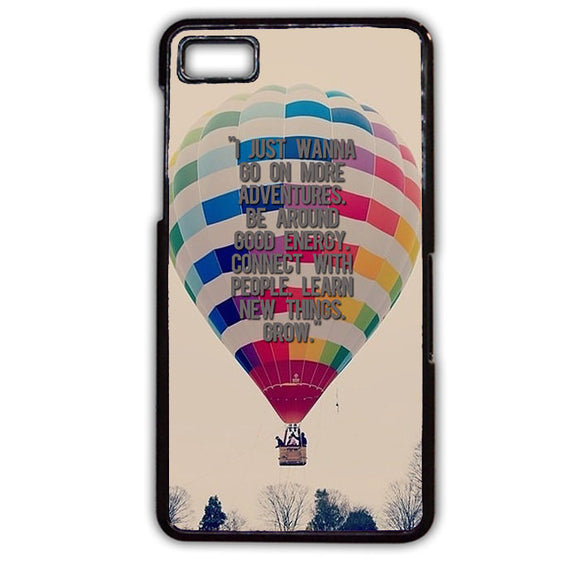 Adventure Baloon Phonecase Cover Case For Blackberry Q10 Blackberry Z10 - tatumcase