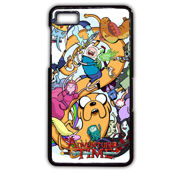 Adventure Time Characters Phonecase Cover Case For Blackberry Q10 Blackberry Z10 - tatumcase