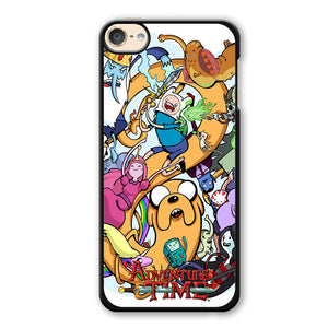 Adventure Time Characters Phonecase Cover Case For Apple Ipod 4 Ipod 5 Ipod 6 - tatumcase