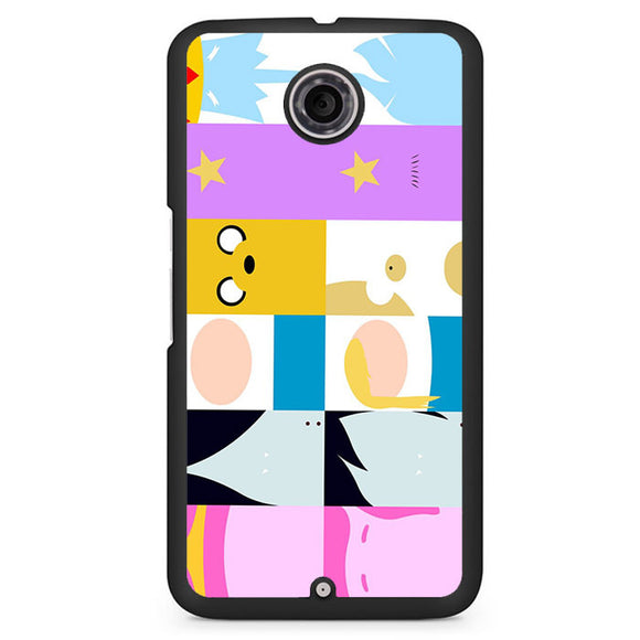 Adventure Time All Characters Phonecase Cover Case For Google Nexus 4 Nexus 5 Nexus 6 - tatumcase