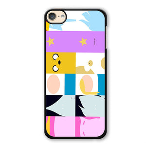 Adventure Time All Characters Phonecase Cover Case For Apple Ipod 4 Ipod 5 Ipod 6 - tatumcase