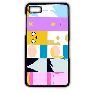 Adventure Time All Characters TATUM-311 Blackberry Phonecase Cover For Blackberry Q10, Blackberry Z10 - tatumcase