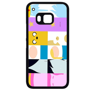 Adventure Time All CharactersPhonecase Cover Case For HTC One M7 HTC One M8 HTC One M9 HTC ONe X - tatumcase