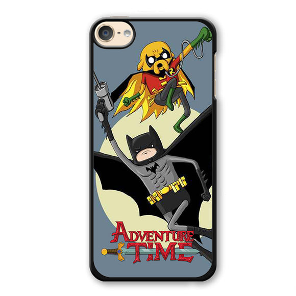 Adventure Time Batman Robin Phonecase Cover Case For Apple Ipod 4 Ipod 5 Ipod 6 - tatumcase