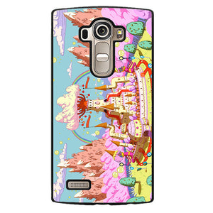 Adventure Time Candy Kingdom Phonecase Cover Case For LG G3 LG G4 - tatumcase