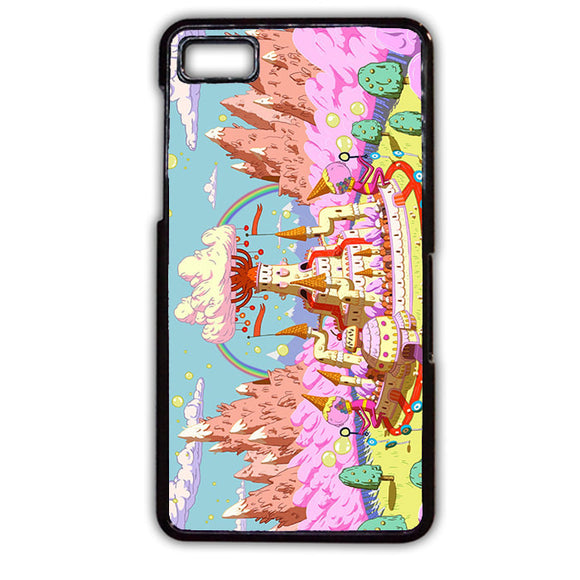 Adventure Time Candy Kingdom TATUM-323 Blackberry Phonecase Cover For Blackberry Q10, Blackberry Z10 - tatumcase