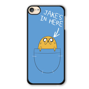 Adventure Time Jake Phonecase Cover Case For Apple Ipod 4 Ipod 5 Ipod 6 - tatumcase