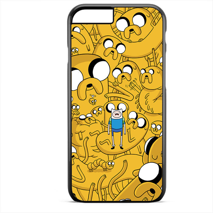 Adventure Time Jake Collage Phonecase For Iphone 4/4S Iphone 5/5S Iphone 5C Iphone 6 Iphone 6S Iphone 6 Plus Iphone 6S Plus - tatumcase