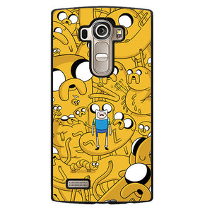 Adventure Time Jake Collage Phonecase Cover Case For LG G3 LG G4 - tatumcase