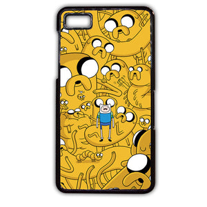 Adventure Time Jake Collage Phonecase Cover Case For Blackberry Q10 Blackberry Z10 - tatumcase