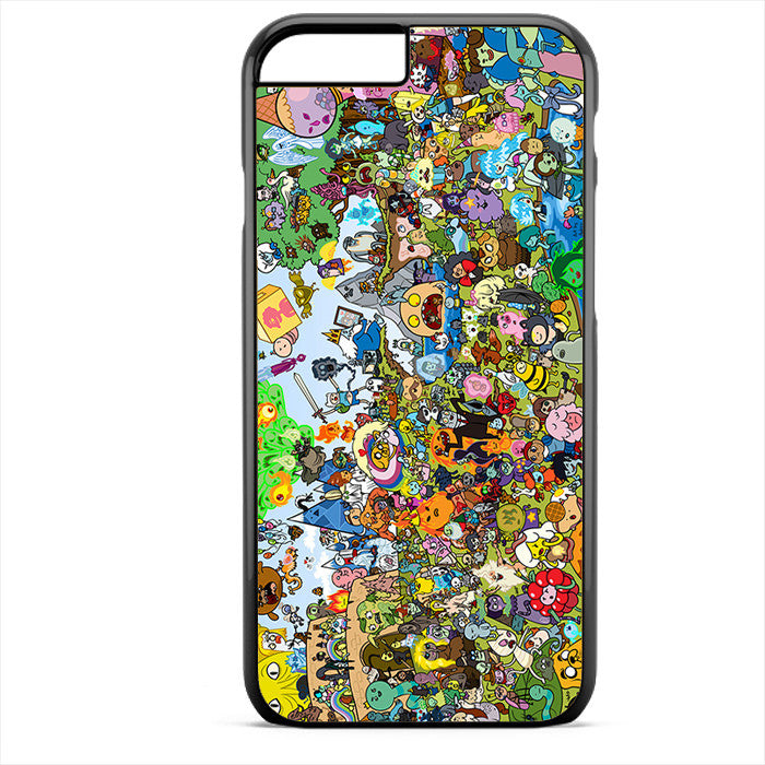 Adventure Time Party Phonecase For Iphone 4/4S Iphone 5/5S Iphone 5C Iphone 6 Iphone 6S Iphone 6 Plus Iphone 6S Plus