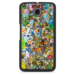 Adventure Time Party Phonecase Cover Case For Google Nexus 4 Nexus 5 Nexus 6 - tatumcase