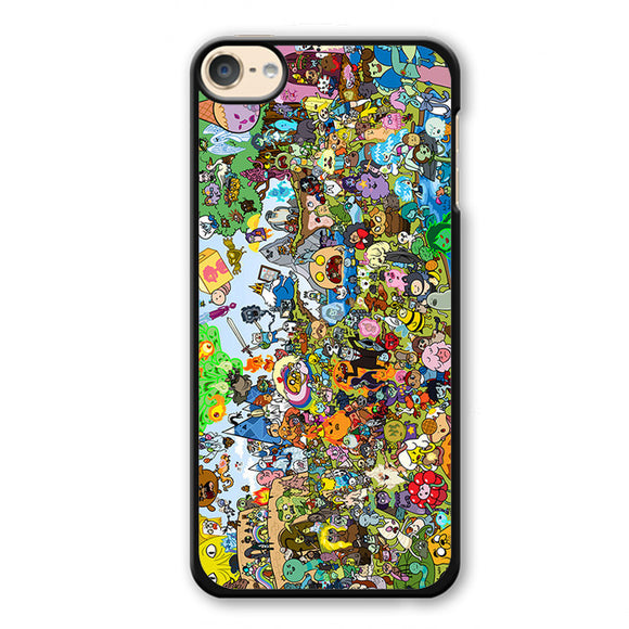 Adventure Time Party Phonecase Cover Case For Apple Ipod 4 Ipod 5 Ipod 6 - tatumcase