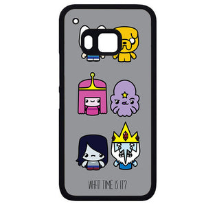 Adventure Time What Time Is ItPhonecase Cover Case For HTC One M7 HTC One M8 HTC One M9 HTC ONe X - tatumcase