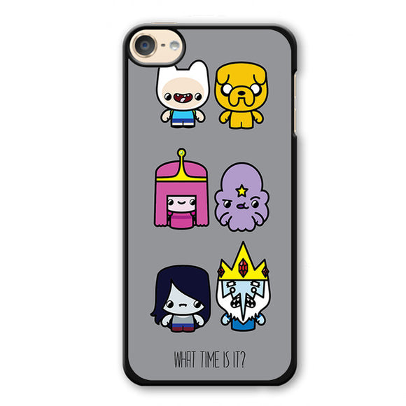 Adventure Time What Time Is It Phonecase Cover Case For Apple Ipod 4 Ipod 5 Ipod 6 - tatumcase