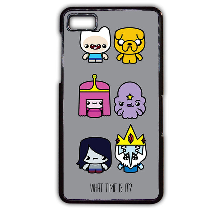 Adventure Time What Time Is It Phonecase Cover Case For Blackberry Q10 Blackberry Z10 - tatumcase