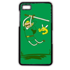 Adventure Time Zelda Phonecase Cover Case For Blackberry Q10 Blackberry Z10 - tatumcase