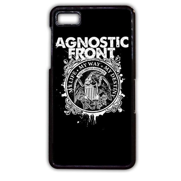 Agnostic Front My Life TATUM-396 Blackberry Phonecase Cover For Blackberry Q10, Blackberry Z10 - tatumcase