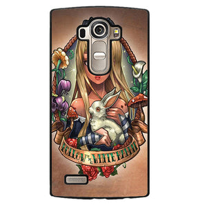 Alice And Wonderland Pin Up Phonecase Cover Case For LG G3 LG G4 - tatumcase