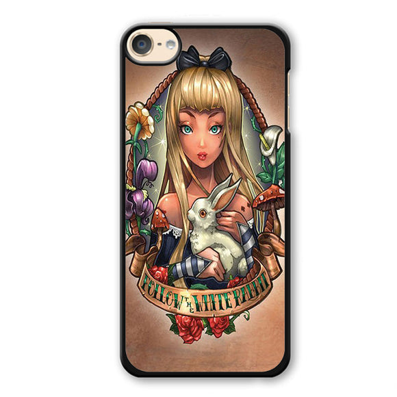 Alice And Wonderland Pin Up Phonecase Cover Case For Apple Ipod 4 Ipod 5 Ipod 6 - tatumcase