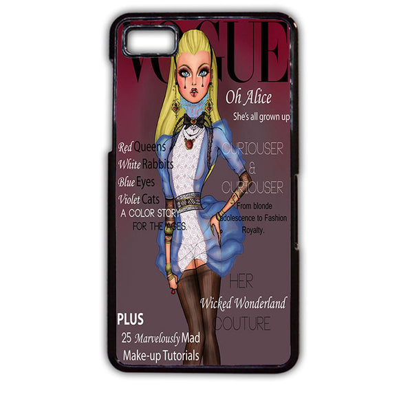 Alice Disney Vogue Magazine TATUM-499 Blackberry Phonecase Cover For Blackberry Q10, Blackberry Z10 - tatumcase
