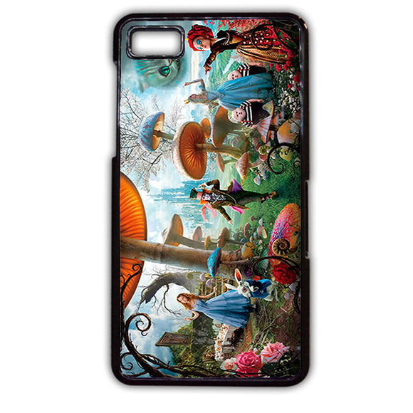 Alice In Wonderland Party Phonecase Cover Case For Blackberry Q10 Blackberry Z10 - tatumcase