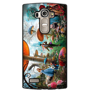 Alice In Wonderland Party Phonecase Cover Case For LG G3 LG G4 - tatumcase