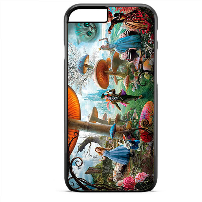Alice In Wonderland Party Phonecase For Iphone 4/4S Iphone 5/5S Iphone 5C Iphone 6 Iphone 6S Iphone 6 Plus Iphone 6S Plus