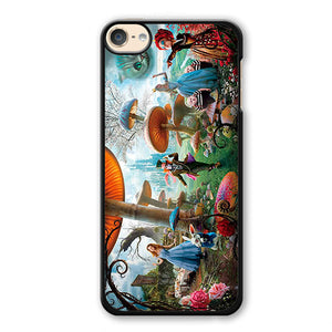Alice In Wonderland Party Phonecase Cover Case For Apple Ipod 4 Ipod 5 Ipod 6 - tatumcase