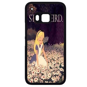 Alice In Wonderland Stay WeirdPhonecase Cover Case For HTC One M7 HTC One M8 HTC One M9 HTC ONe X - tatumcase