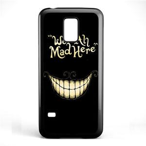 Alice In Wonderland We Are All Mad Phonecase Cover Case For Samsung Galaxy S3 Mini Galaxy S4 Mini Galaxy S5 Mini - tatumcase