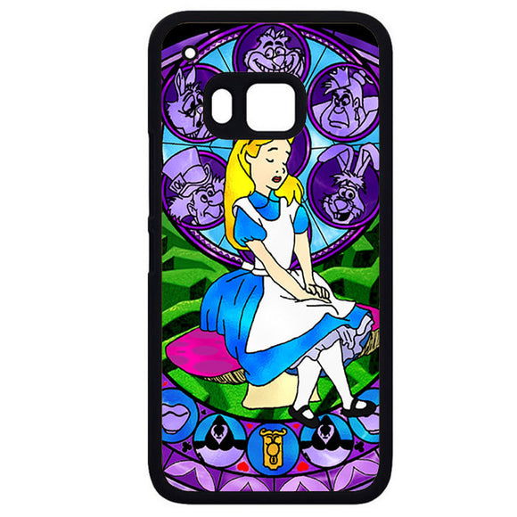 Alice Stained GlassPhonecase Cover Case For HTC One M7 HTC One M8 HTC One M9 HTC ONe X - tatumcase