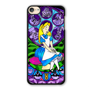 Alice Stained Glass Phonecase Cover Case For Apple Ipod 4 Ipod 5 Ipod 6 - tatumcase