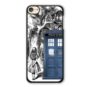 Alice Tardis Sketch Phonecase Cover Case For Apple Ipod 4 Ipod 5 Ipod 6 - tatumcase