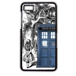 Alice Tardis Sketch TATUM-541 Blackberry Phonecase Cover For Blackberry Q10, Blackberry Z10 - tatumcase