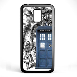 Alice Tardis Sketch Phonecase Cover Case For Samsung Galaxy S3 Mini Galaxy S4 Mini Galaxy S5 Mini - tatumcase