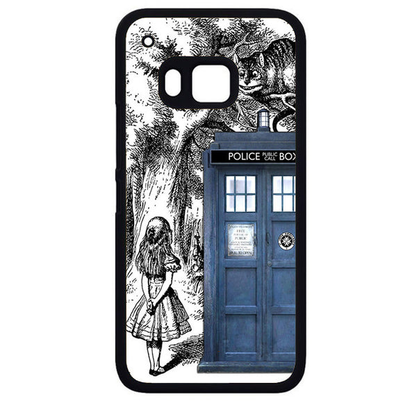 Alice Tardis SketchPhonecase Cover Case For HTC One M7 HTC One M8 HTC One M9 HTC ONe X - tatumcase