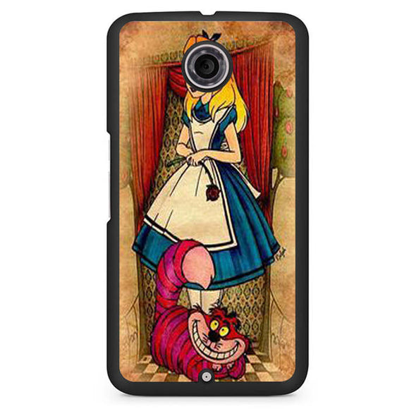 Alice Vintage Phonecase Cover Case For Google Nexus 4 Nexus 5 Nexus 6 - tatumcase