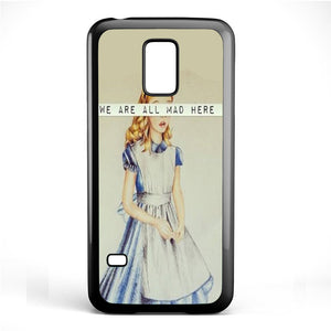 Alice We Are All Mad Phonecase Cover Case For Samsung Galaxy S3 Mini Galaxy S4 Mini Galaxy S5 Mini - tatumcase