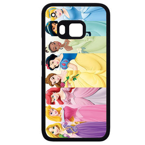 All Disney PrincessPhonecase Cover Case For HTC One M7 HTC One M8 HTC One M9 HTC ONe X
