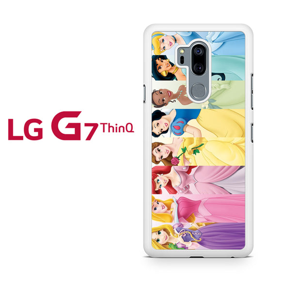 all disney princess, LG G7 ThinQ Case, Tatumcase