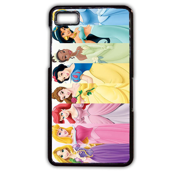 All Disney Princess TATUM-602 Blackberry Phonecase Cover For Blackberry Q10, Blackberry Z10