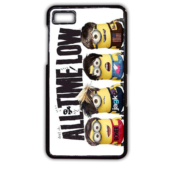 All Time Low Minions TATUM-631 Blackberry Phonecase Cover For Blackberry Q10, Blackberry Z10