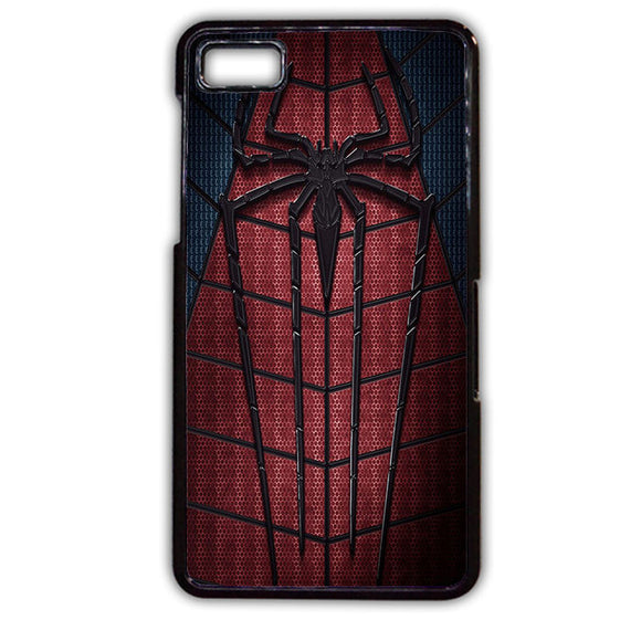 Amazing Spiderman Suit TATUM-687 Blackberry Phonecase Cover For Blackberry Q10, Blackberry Z10