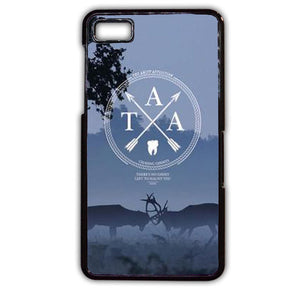 Amity Affliction Cover TATUM-735 Blackberry Phonecase Cover For Blackberry Q10, Blackberry Z10