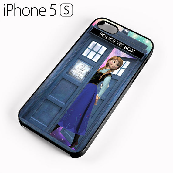 anna frozen tardis - iPhone 5 Case - Tatumcase