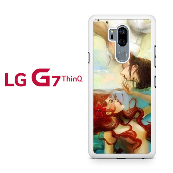 ariel and her prince - LG G7 ThinQ Case - Tatumcase
