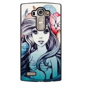 Ariel Fanart Phonecase Cover Case For LG G3 LG G4