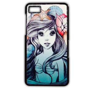 Ariel Fanart Phonecase Cover Case For Blackberry Q10 Blackberry Z10