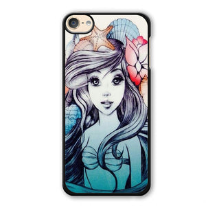 Ariel Fanart Phonecase Cover Case For Apple Ipod 4 Ipod 5 Ipod 6